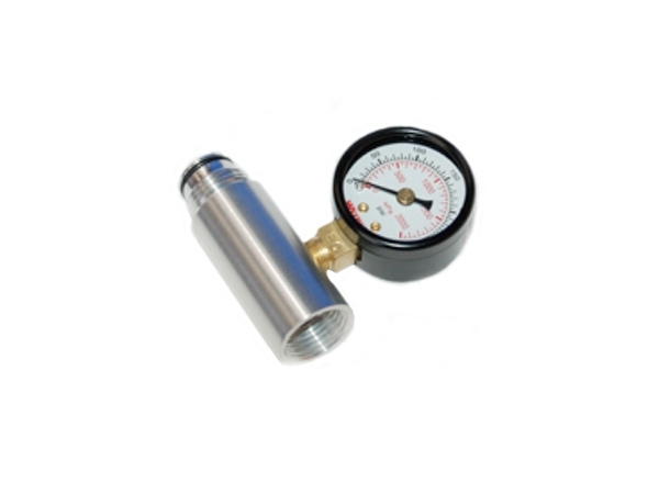 ASA Extension With Pressure Gauge